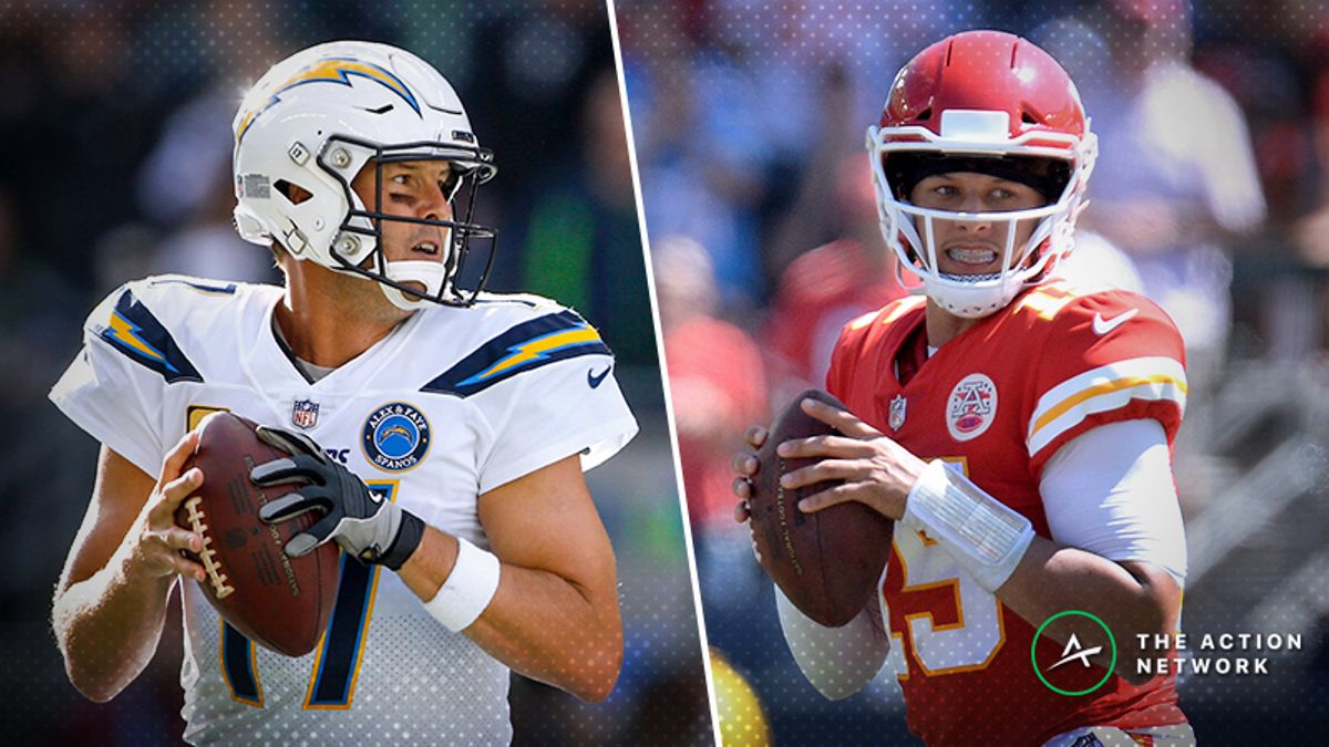 Chargers-Chiefs TNF Betting Odds: Opening Spread, Trends to Know, More article feature image