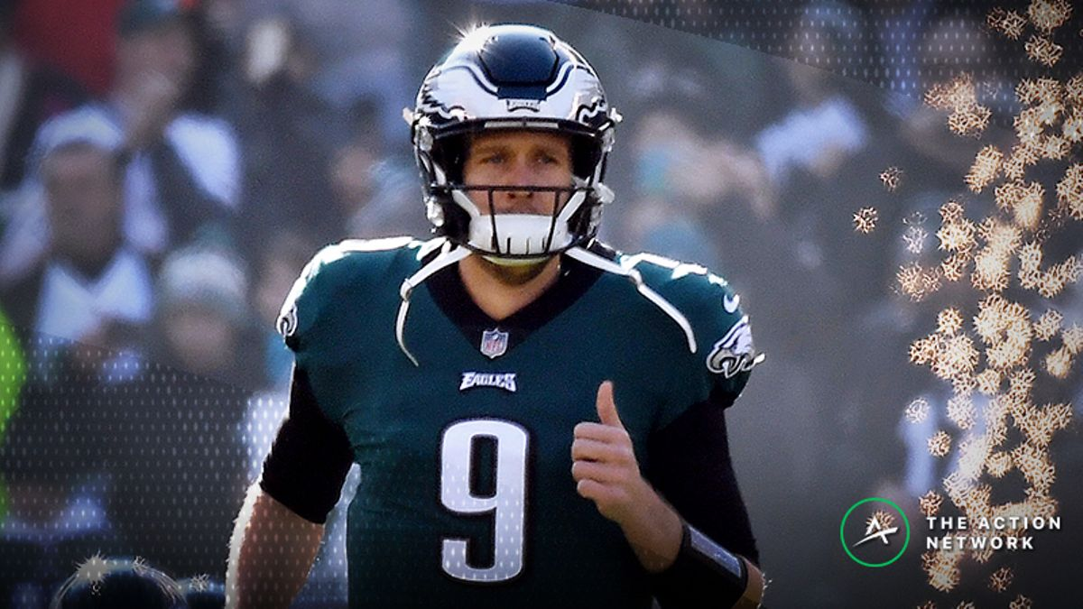 Betting Odds Suggest Nick Foles Will Leave Philly in Offseason article feature image