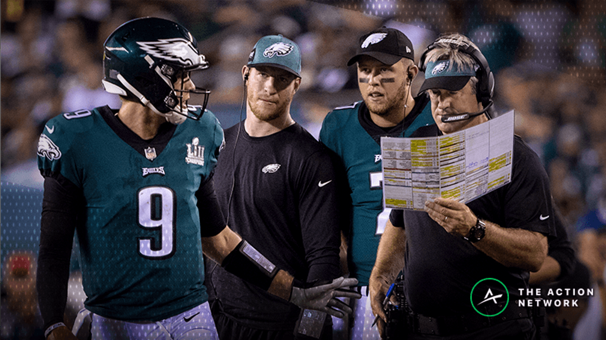 Eagles Make Gambling History As Huge Underdog on Sunday Night Football vs. Rams article feature image