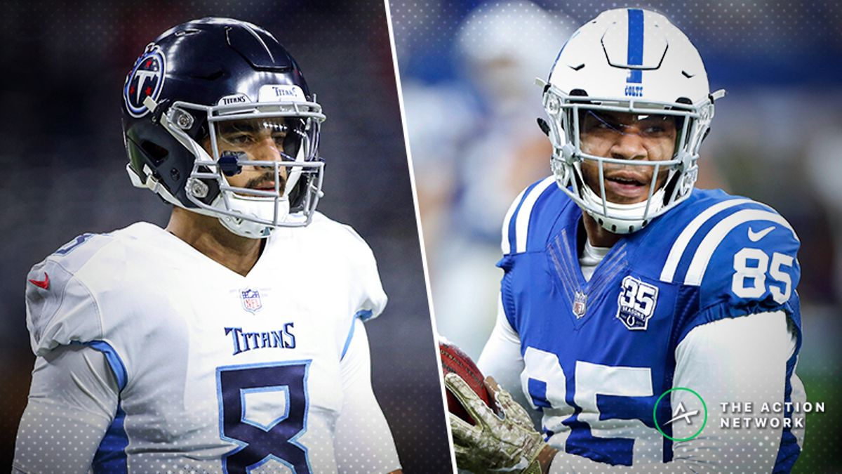 Week 17 NFL Injury Report: Marcus Mariota, Eric Ebron, Who's Resting, More article feature image