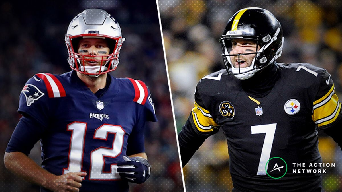 Patriots-Steelers Betting Preview: Believe in Brady Coming Off a Loss? article feature image
