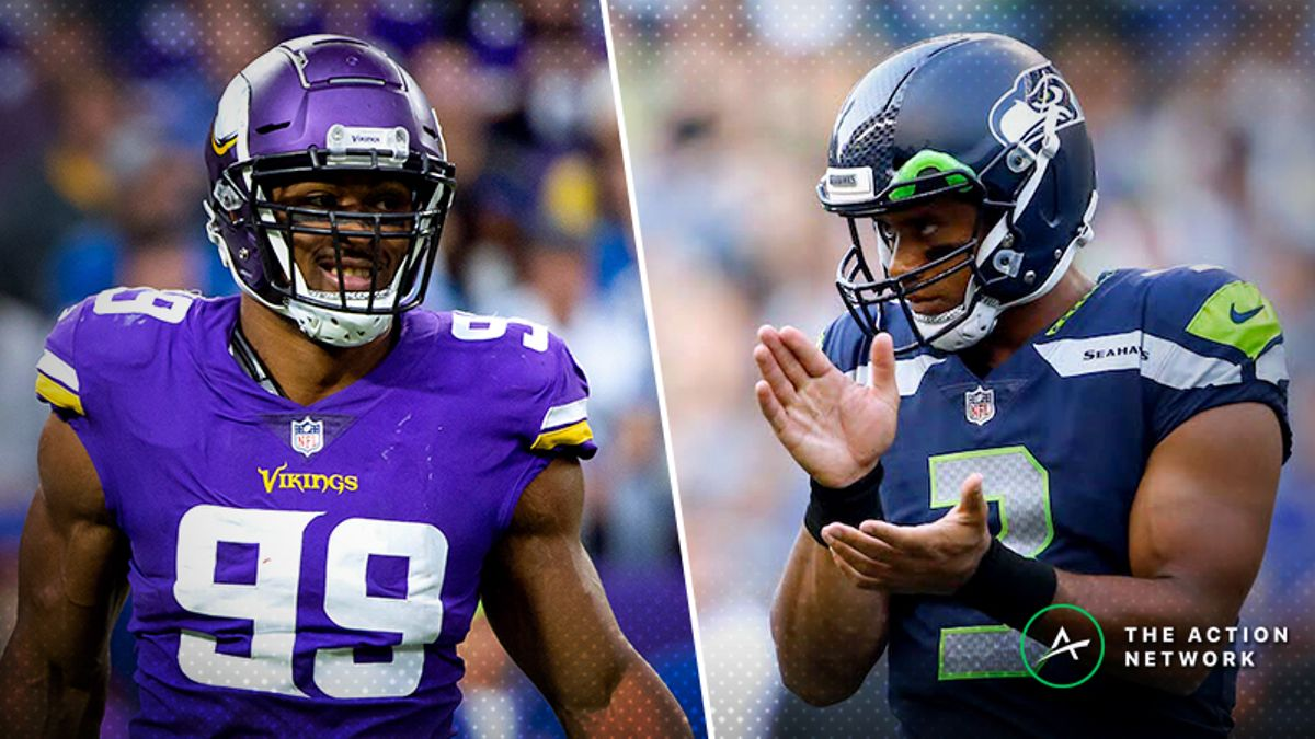 Vikings-Seahawks MNF Betting Preview: Will Seattle Keep Rolling ATS? article feature image