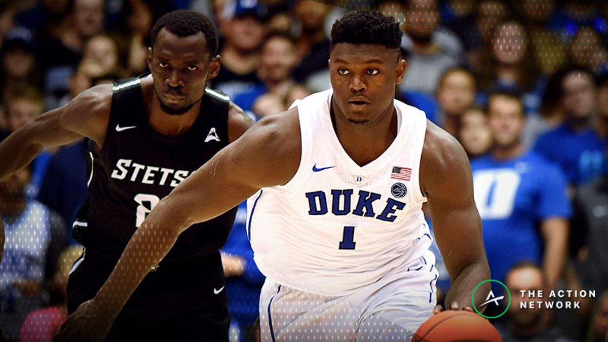 2019 NBA Draft: Mock Drafts, Betting Odds Make Zion Williamson Big Favorite to Go No. 1 article feature image