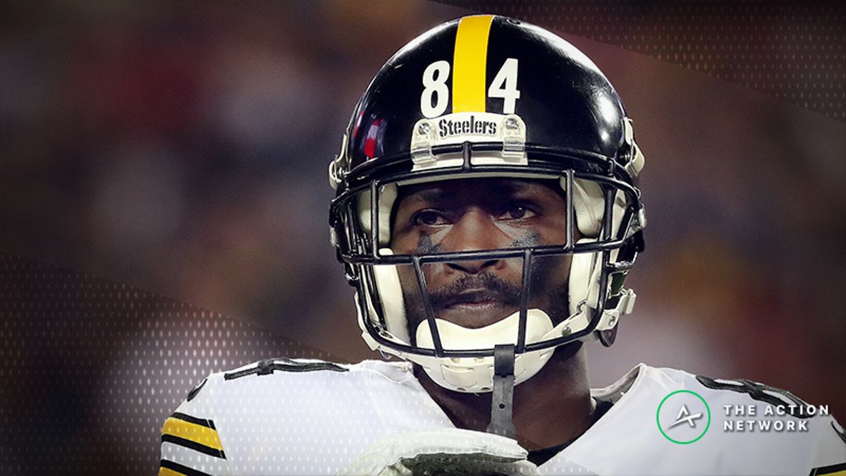 Freedman: 10 Wide Receivers Who Are Better Than Antonio Brown Right Now article feature image