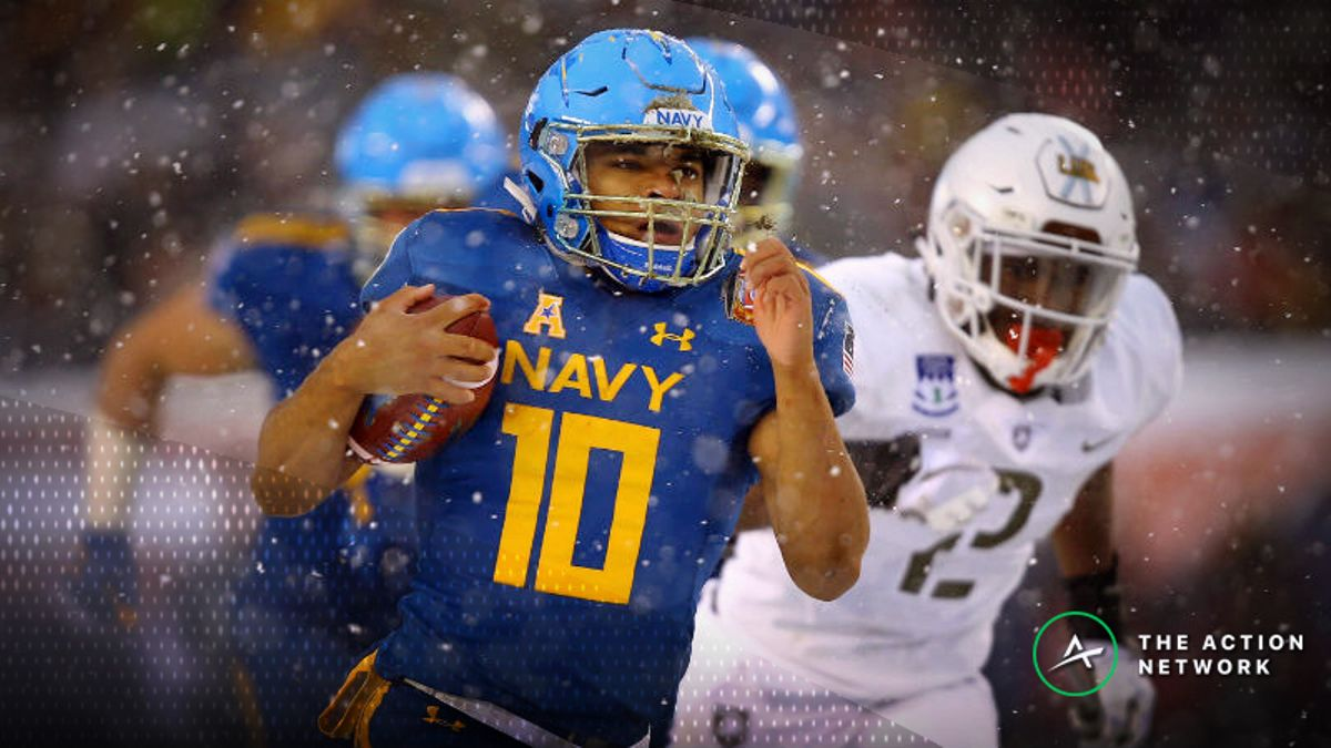 Army-Navy Betting Guide: Will Game Come Down to … Army's Passing Attack? article feature image
