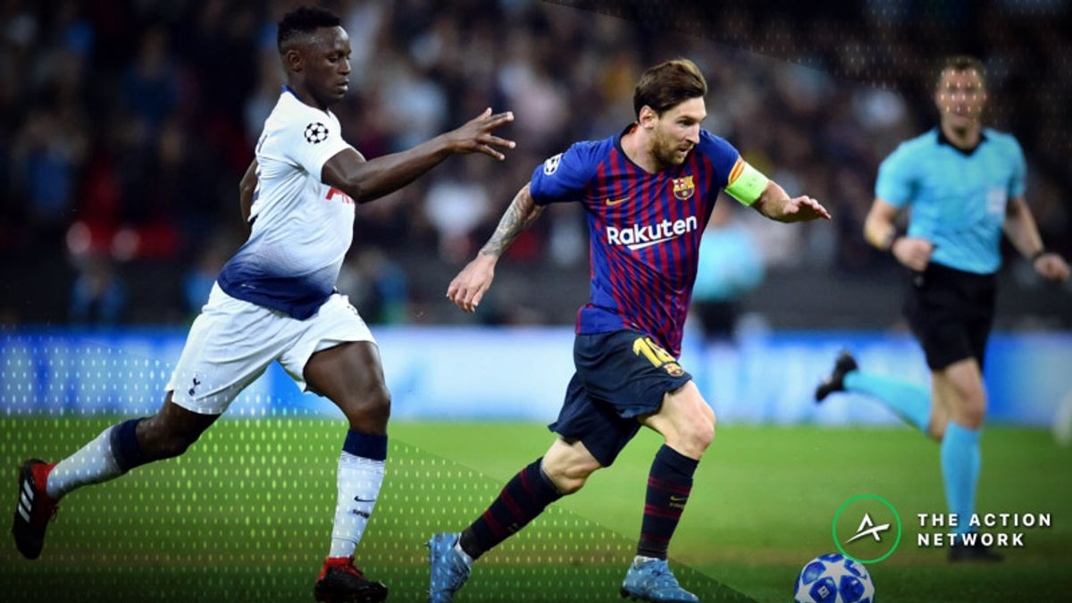 Champions League Tuesday Preview: Will Tottenham Upset Barcelona at Camp Nou? article feature image