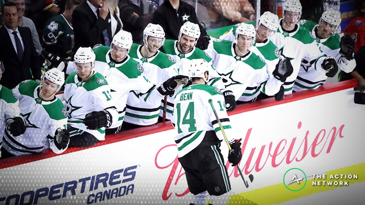 Stars-Golden Knights Betting Preview: Dallas Aims for Fifth Win in a Row article feature image
