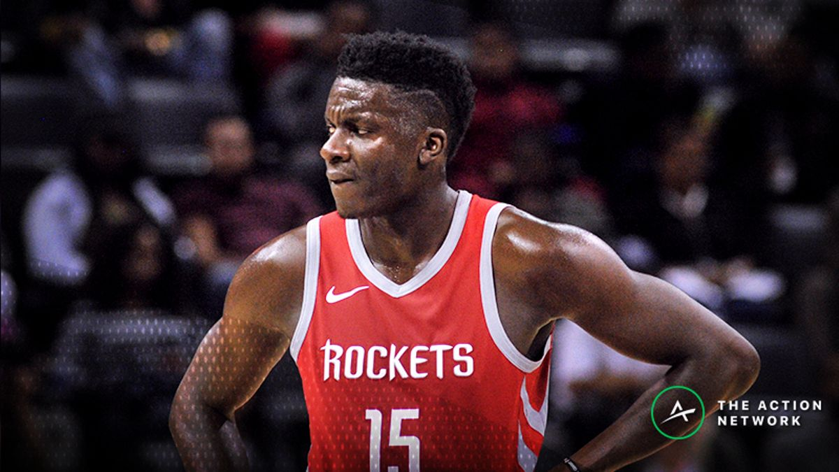 Grizzlies-Rockets Betting Odds: Clint Capela Injury News Moves Spread, Total article feature image