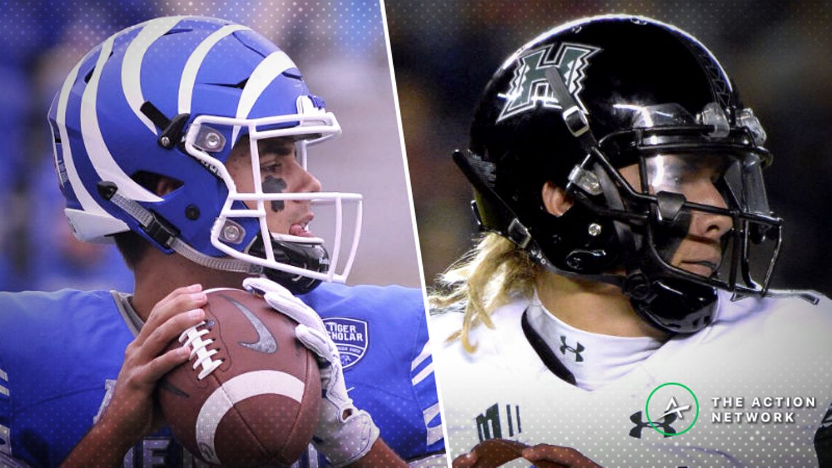 2018 College Football Bowl Betting: Odds, Picks for 4 Saturday Games (December 22) article feature image