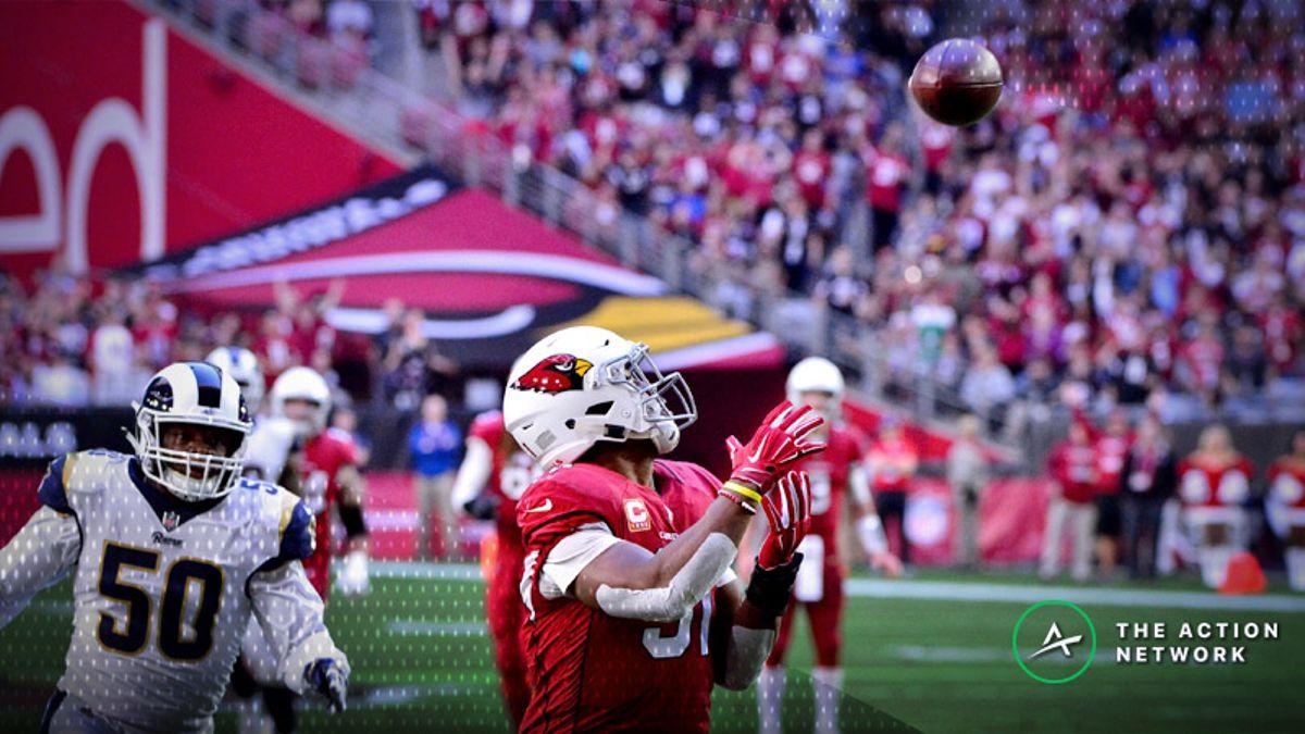 Best Week 17 NFL Prop Bets: Believe in David Johnson's Receiving article feature image