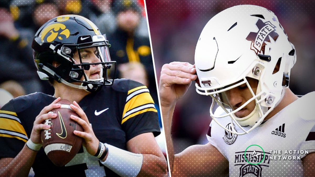2019 Outback Bowl Betting Guide: Mississippi State, Iowa Boast Elite Defenses article feature image