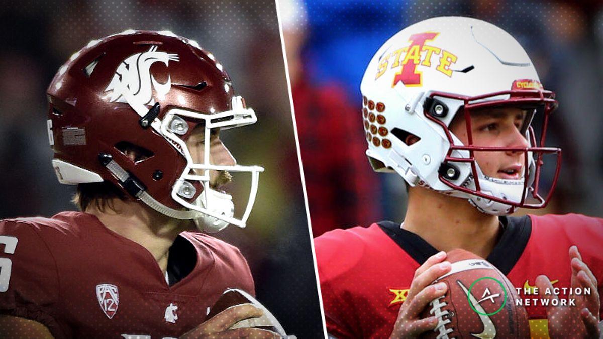 Iowa State-Washington State Betting Guide: Will Air Raid Fall Flat in 2018 Alamo Bowl? article feature image