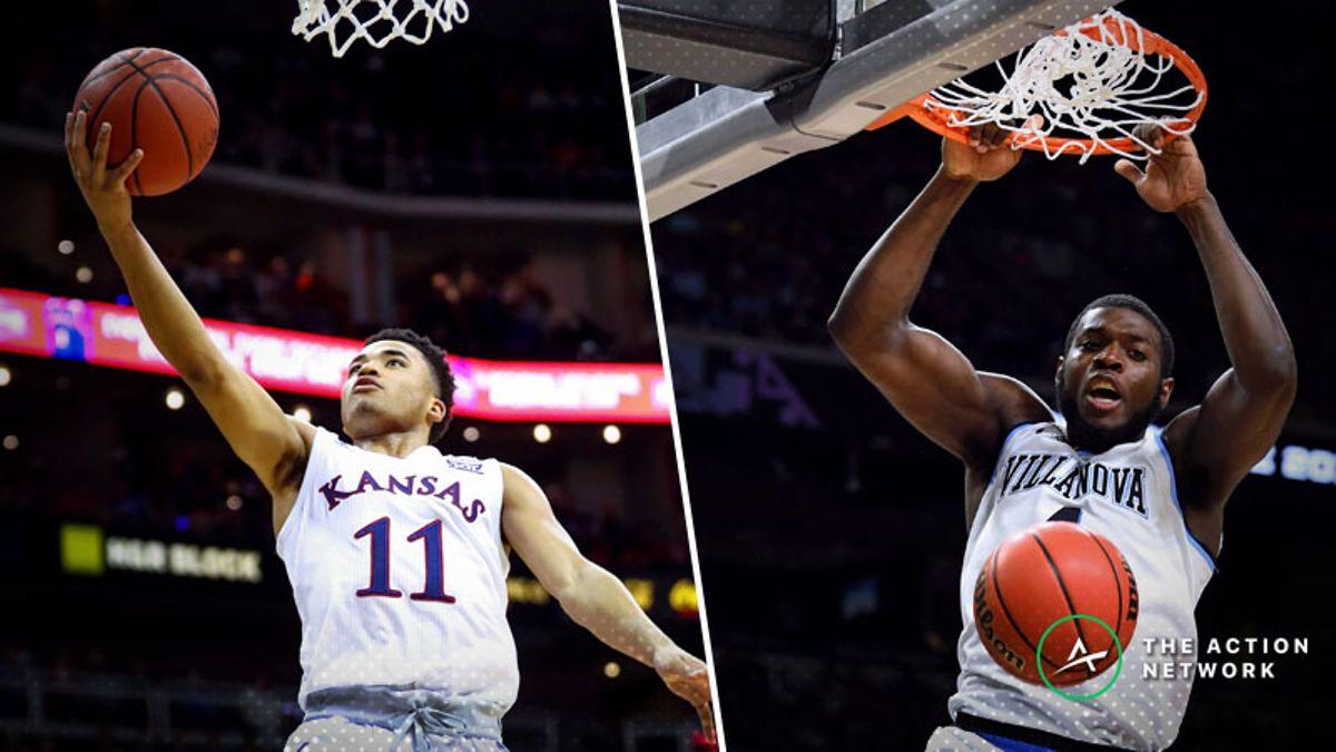 Saturday's College Basketball Betting Previews: Villanova-Kansas, Gonzaga-North Carolina article feature image