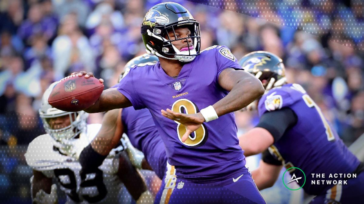 Saturday's Best Week 16 NFL Player Props: Bet on Lamar Jackson's Rushing Ability article feature image