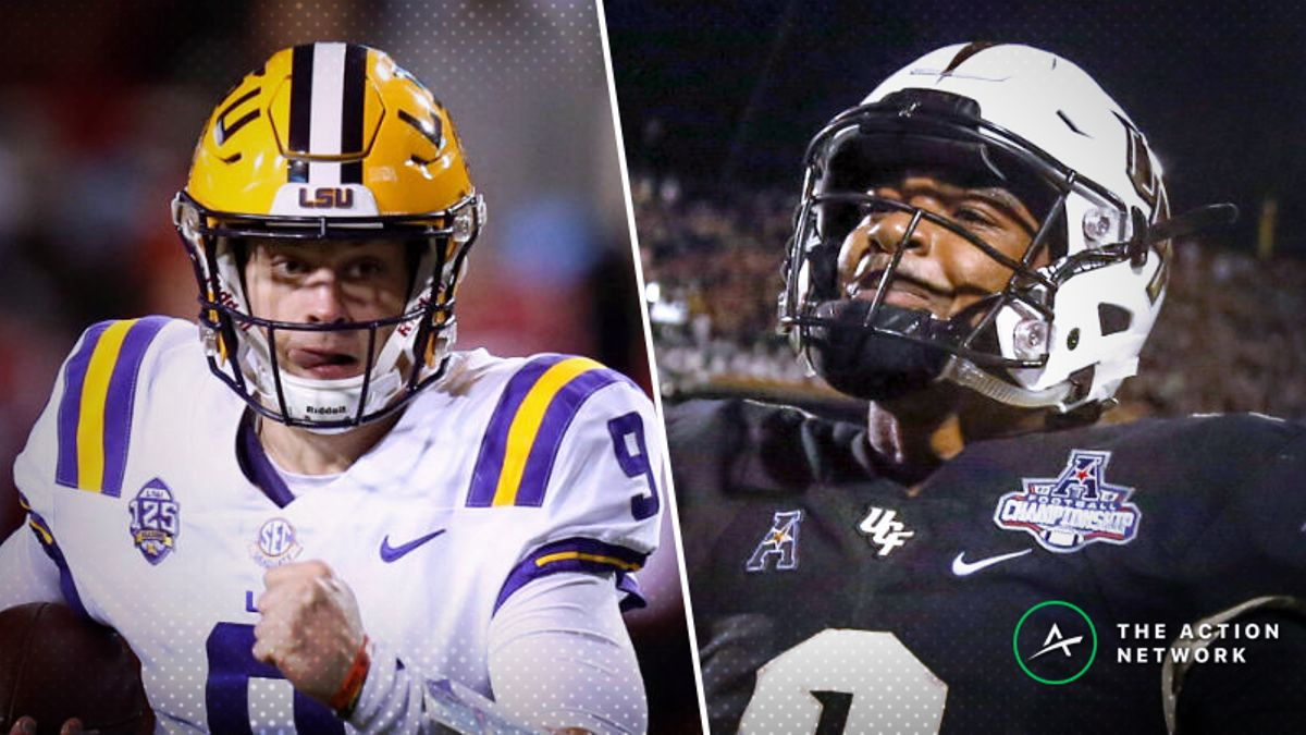 LSU-UCF Betting Guide: Tigers Missing Key Defensive Players in 2019 Fiesta Bowl article feature image