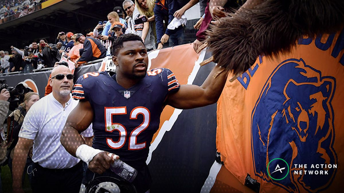Week 14 Action Report: Bears Getting Betting Support Against Rams article feature image