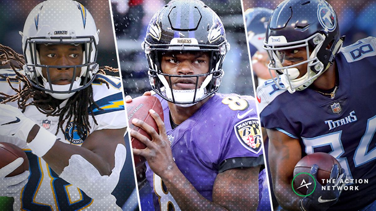 NFL Saturday Betting Guide: All You Need to Know for Redskins-Titans, Ravens-Chargers article feature image