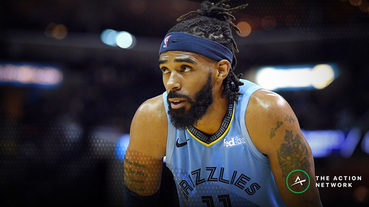 NBA Injury Report: Betting, DFS Impact of Mike Conley, Ricky Rubio Injuries article feature image