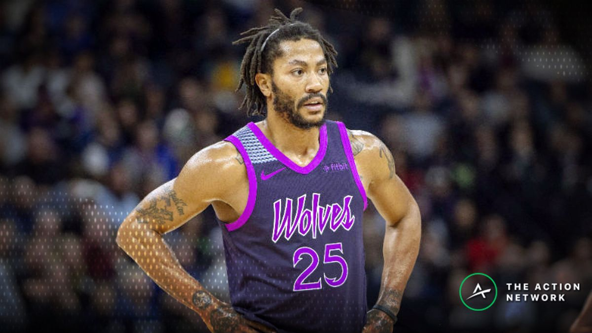 Thursday's Best NBA Player Props: Betting Derrick Rose Points, More article feature image