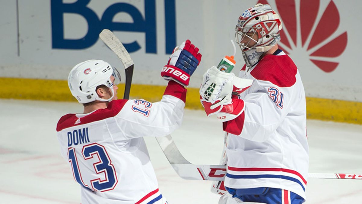 NHL Betting Previews: Finding Value in Red Wings-Capitals, Canadiens-Wild article feature image