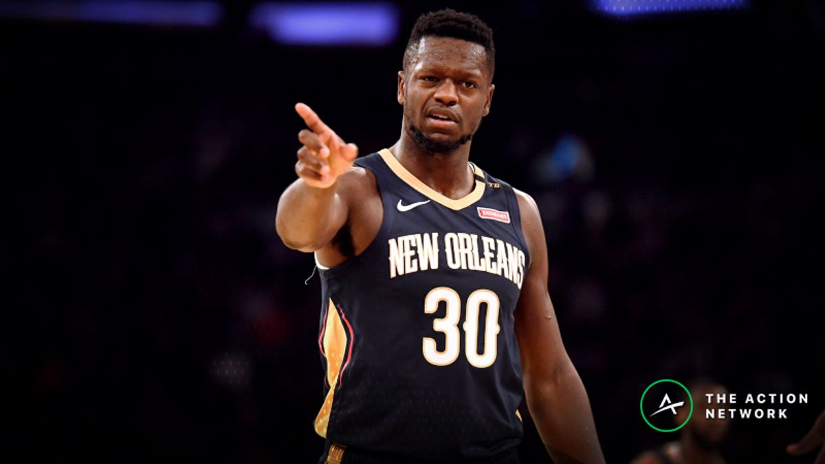 Friday's Best NBA Player Props: Betting Julius Randle Points, More article feature image