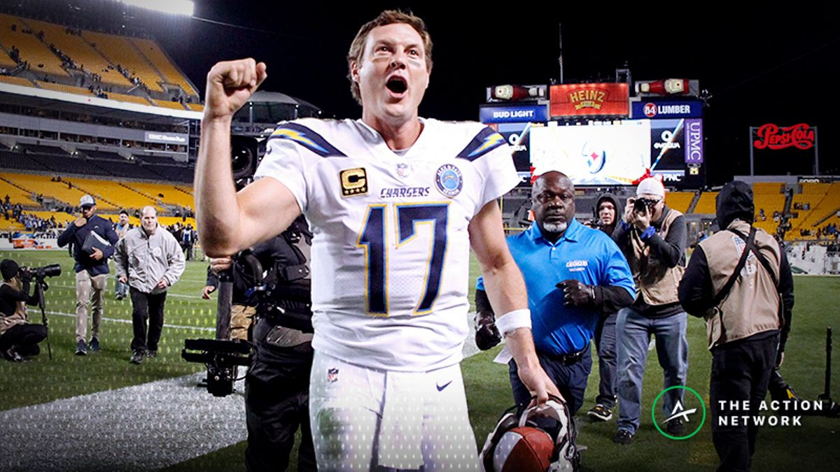 Wild Card Weekend Betting Market: Early Money Moving Chargers Off Key Number article feature image