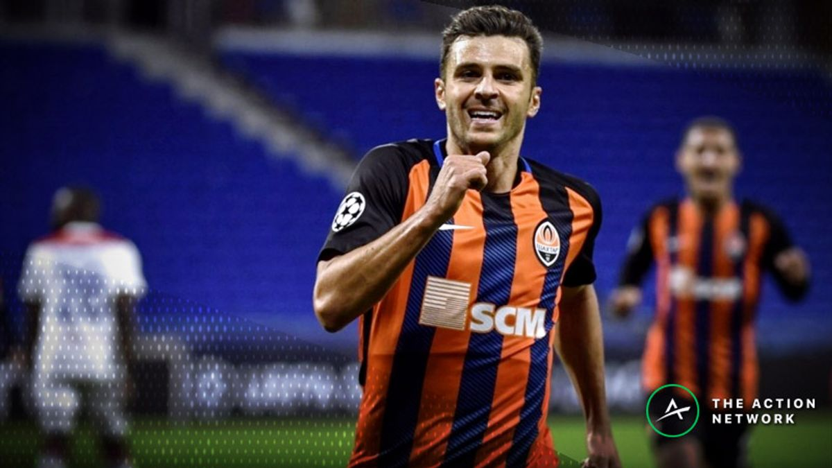 Champions League Betting Report: Lyon and Shakhtar Bid for Final Spot in Round of 16 article feature image