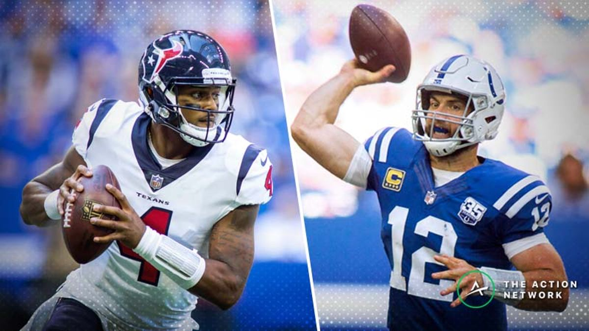 Colts-Texans Betting Preview: Will Indy's Offense Bounce Back in Houston? article feature image
