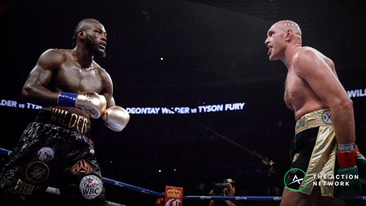 Tyson Fury Favored in Potential Rematch with Deontay Wilder article feature image