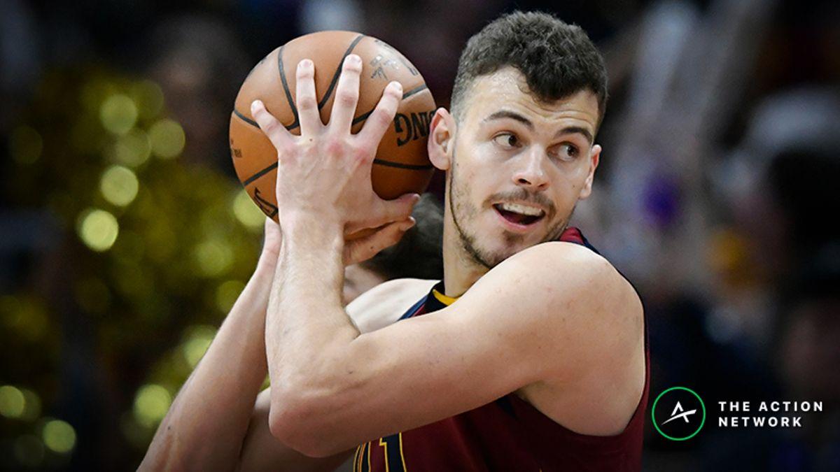 Freedman's Favorite NBA Prop Bet (Jan. 23): Will Ante Zizic Grab 9 Rebounds? article feature image