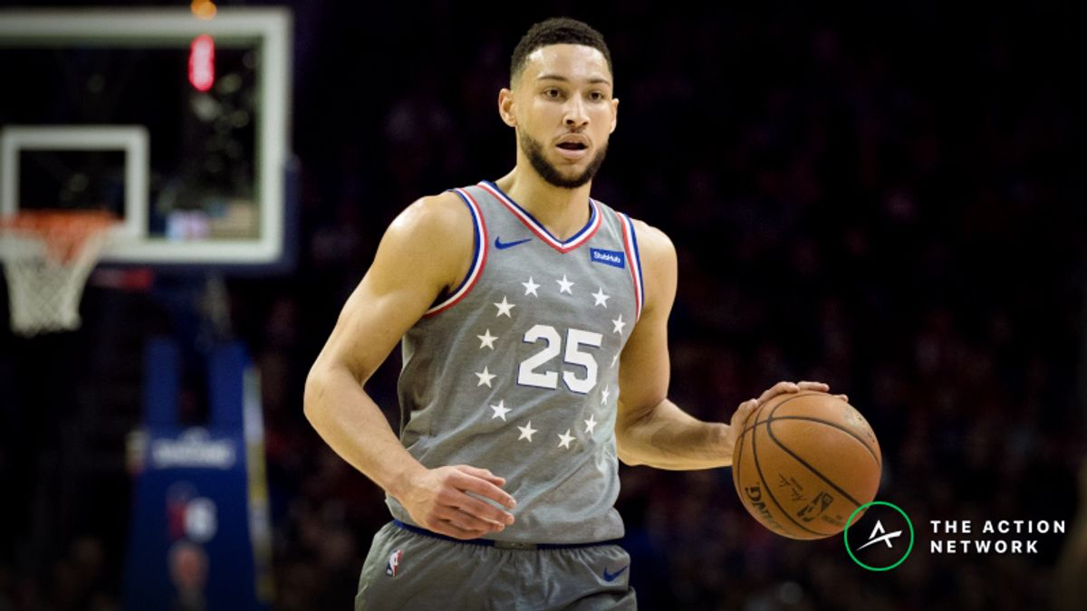 Top NBA Betting Trends for Rockets-76ers, Every Monday Game article feature image