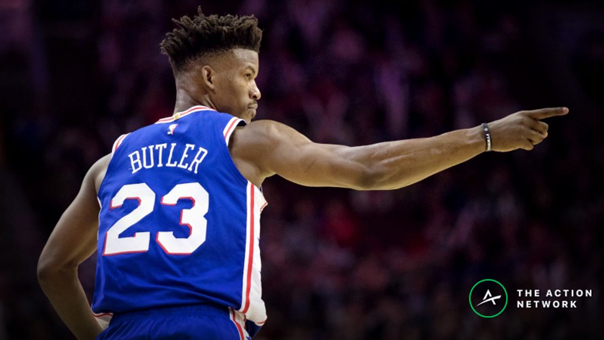 NBA Injury Report: Betting, DFS Impact of Joel Embiid, Jimmy Butler Injuries article feature image