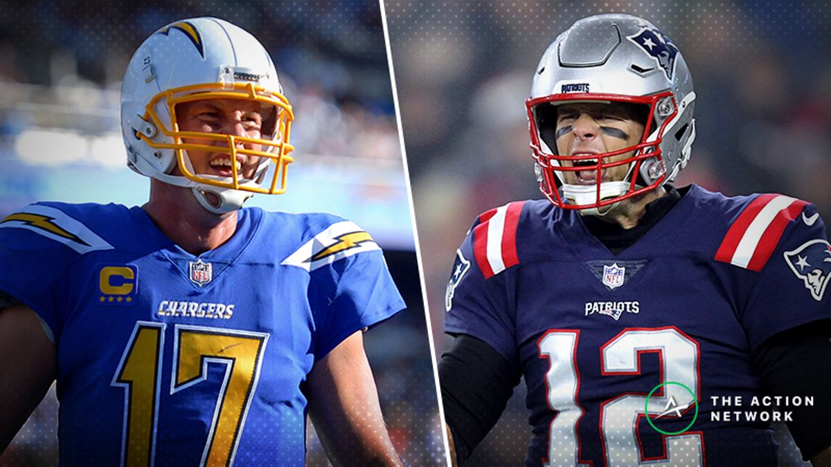 Chargers-Patriots Betting Preview: Will Rivers Struggle vs. Brady Again? article feature image