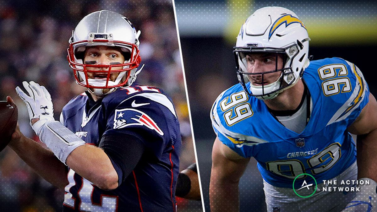 How to Leverage Tom Brady's Playoff History Against Elite Pass Rushes like the Chargers article feature image