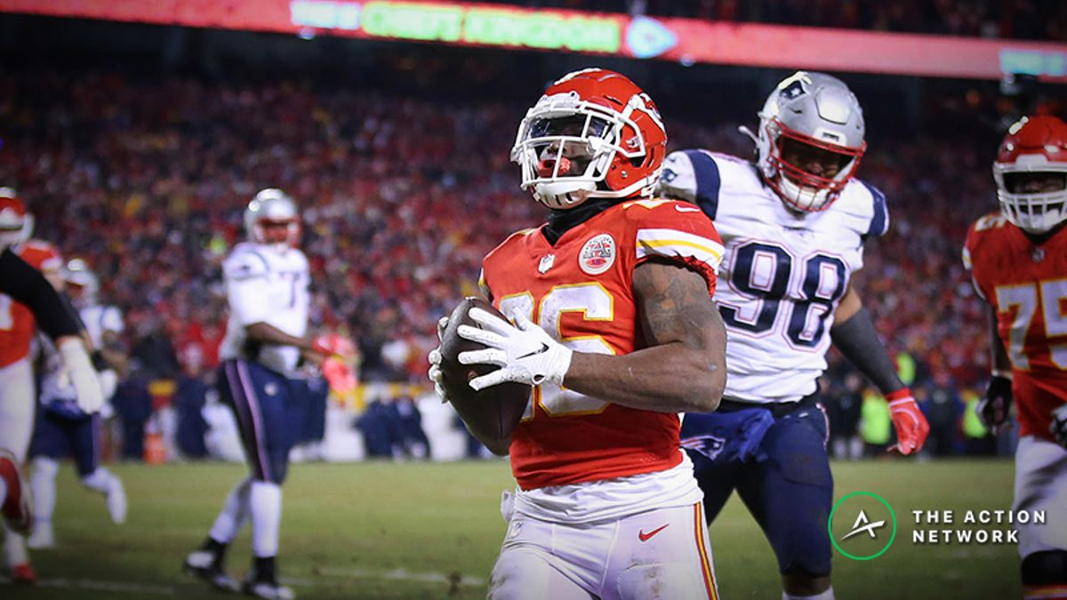 Patriots-Chiefs Bad Beat: 38 Fourth Quarter Points Cash the over in AFC Championship Game article feature image