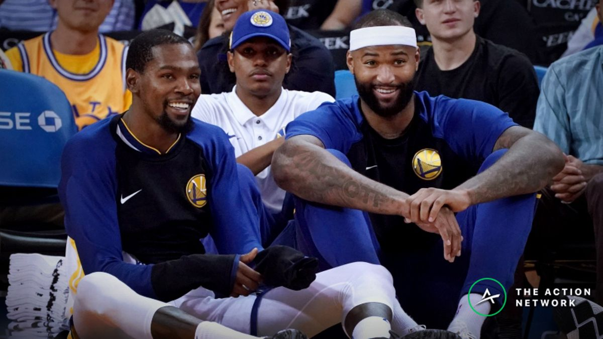 The Most Important NBA DFS Implications of DeMarcus Cousins' Warriors Debut article feature image