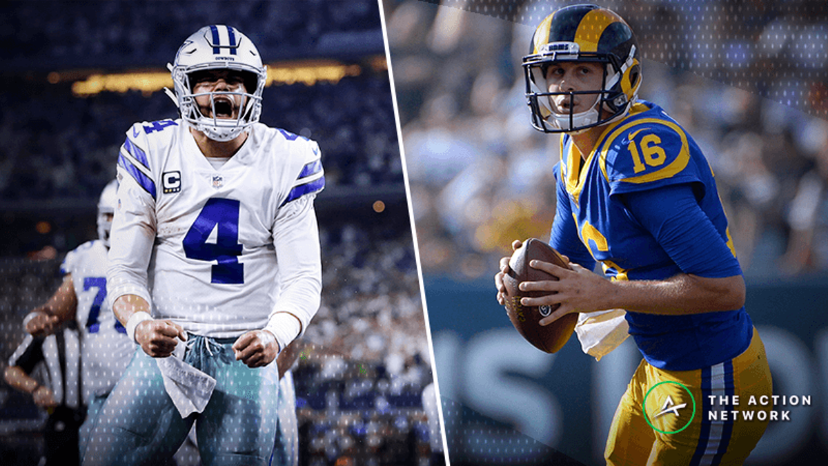 Cowboys-Rams Betting Odds: Los Angeles a Touchdown Favorite in Saturday's NFC Divisional Game article feature image