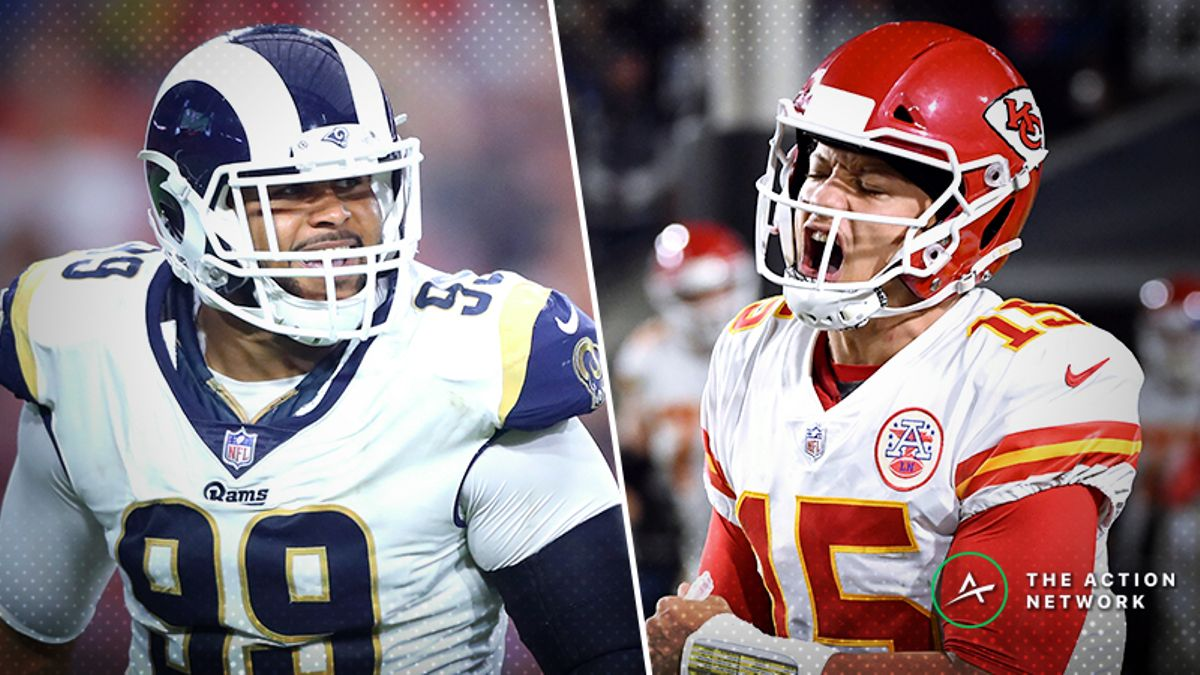 Divisional Round Matchup Manifesto: Aaron Donald & Patrick Mahomes Primed for Big Games, More article feature image