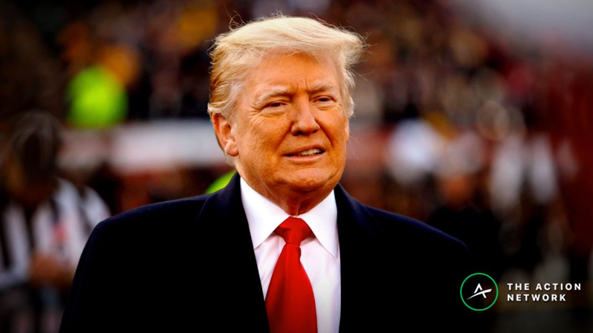 Freedman's Favorite Super Bowl 53 Presidential Prop Bet: Will Donald Trump Attend the Game? article feature image