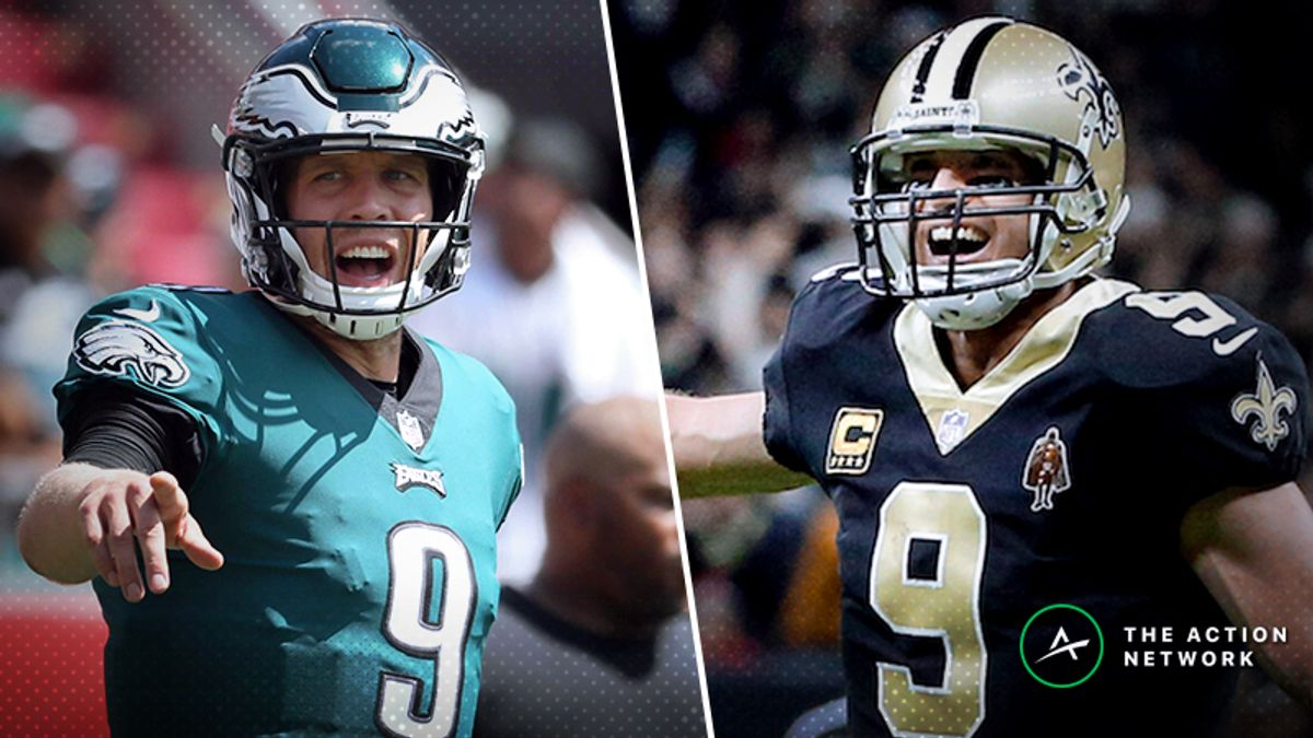 Eagles-Saints Betting Preview: Does Philly Have Any Playoff Magic Left? article feature image