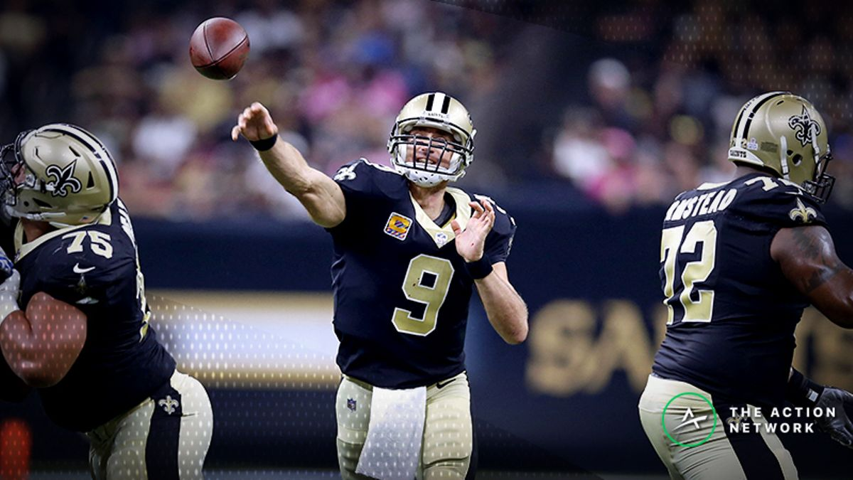 Eagles-Saints Divisional Round Injury Report: Drew Brees Dealing with Banged-Up Offensive Line article feature image