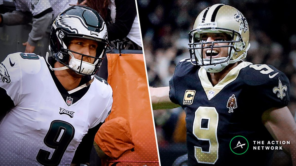 Eagles-Saints Betting Odds: Philly Drawing Majority Support in Sunday's NFC Divisional Game article feature image