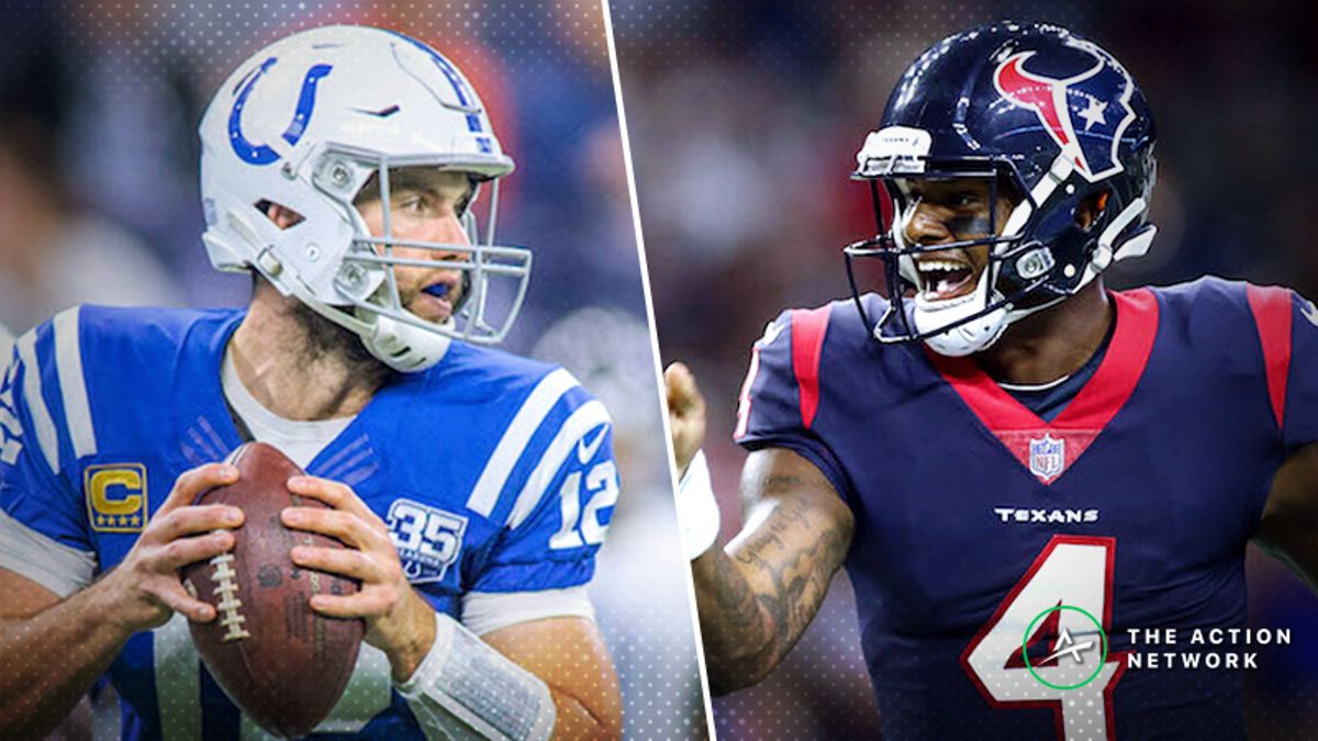 Wild Card Round Matchup Manifesto: Andrew Luck and Deshaun Watson Set up for Success, More article feature image