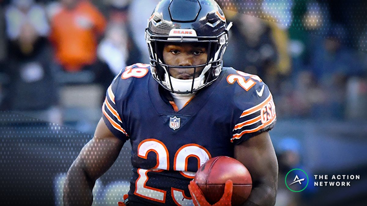 Wild Card Round Fantasy Football Half-Point PPR Rankings: RB article feature image