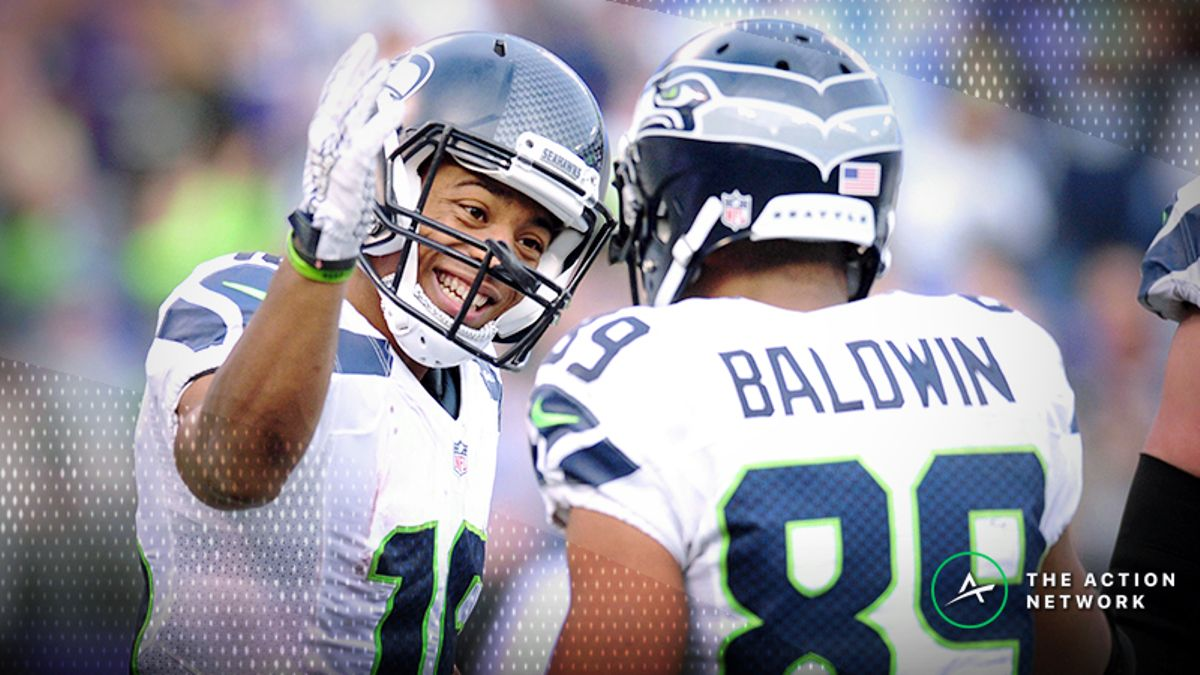 Wild Card Round Fantasy Football Standard Rankings: WR article feature image
