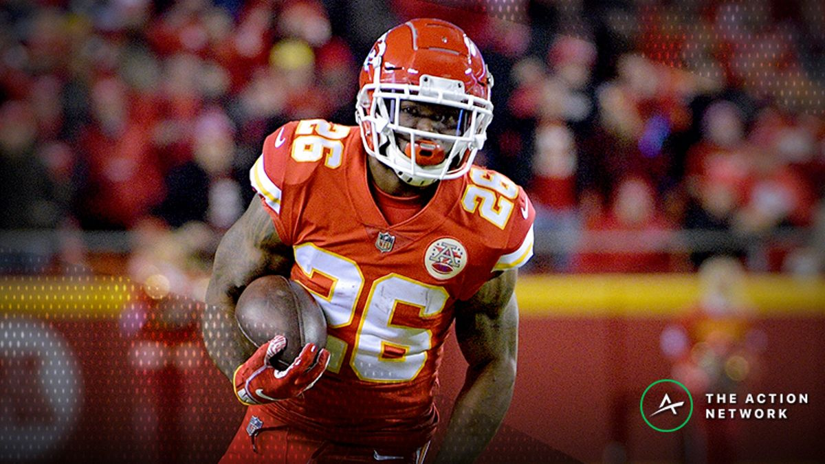 Conference Championships Fantasy Football Standard Rankings: RB article feature image