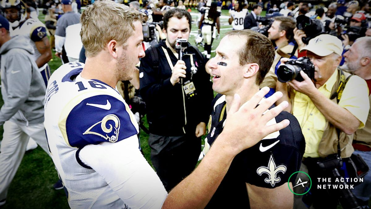 Rams-Saints Live Betting: See How Our Experts Are Wagering on the NFC Championship article feature image