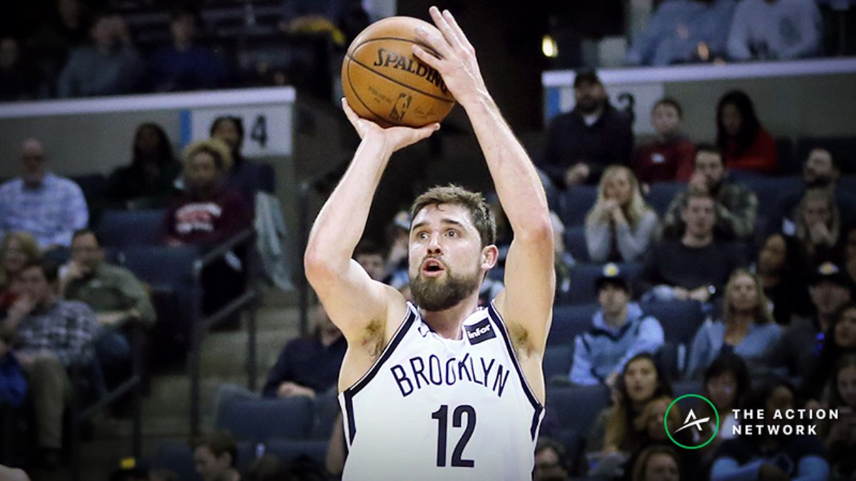 Moore: Why Joe Harris Absolutely, Positively Must Be Considered One of the NBA's Best Shooters article feature image