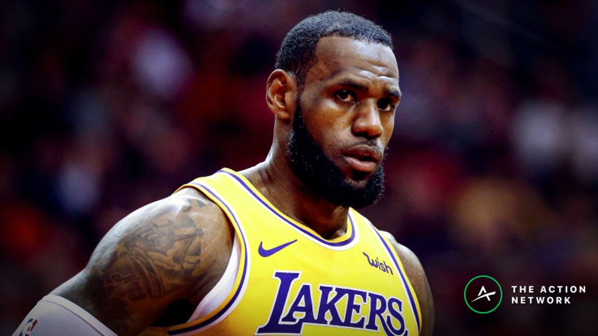 NBA Injury Report: Betting, DFS Impact of Julius Randle, LeBron James, Kyle Kuzma Injuries article feature image