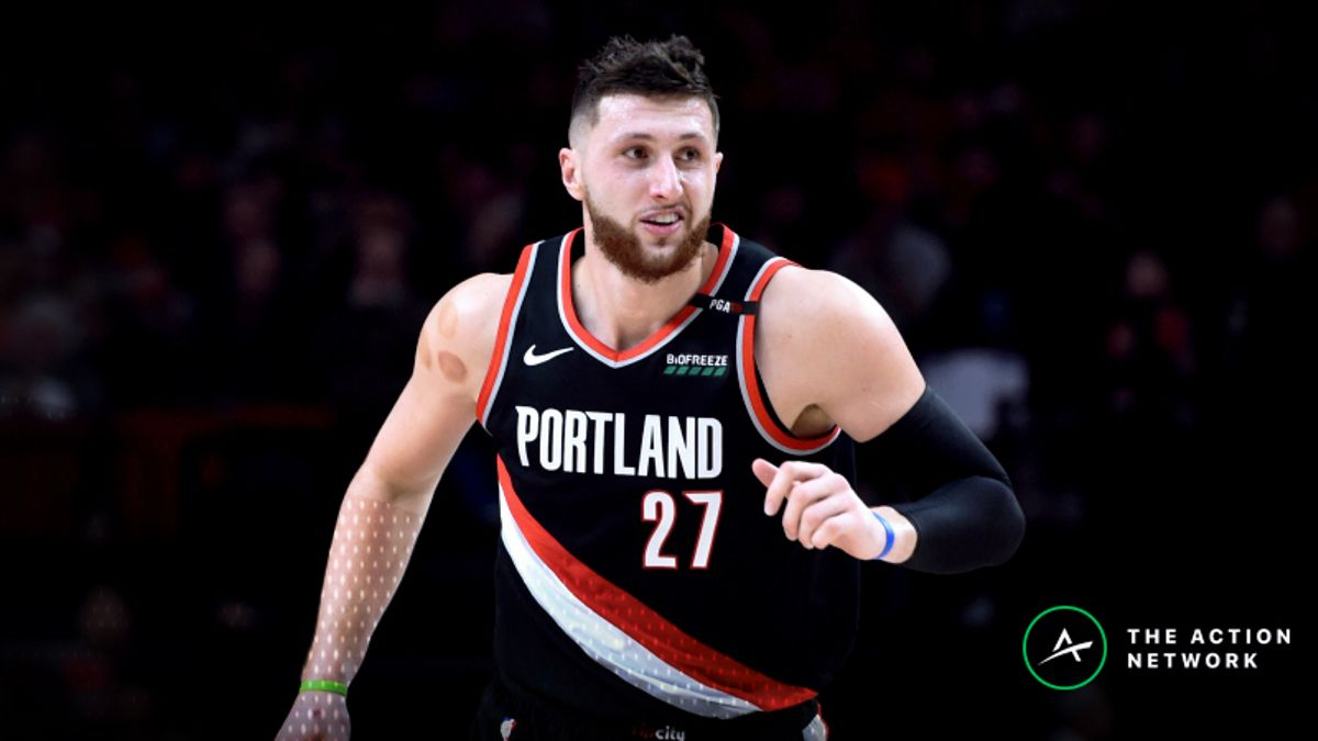 Monday's Best NBA Player Props: Betting Jusuf Nurkic Rebounds, More article feature image